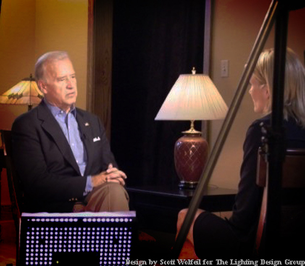 Scott Wolfeil TV Lighting Design Biden 1
